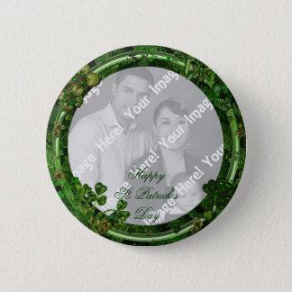 Chapa Redonda De 5 Cm Botón de la foto del día de St Patrick