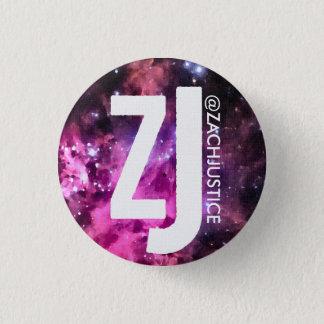 Botón de la galaxia de la justicia de Zach