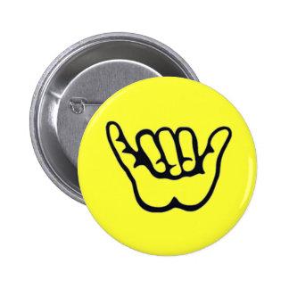 Botón de la HAWAIANA de SHAKA