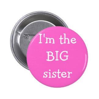 Botón de la hermana grande pins