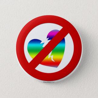 Botón de la igualdad de la boda - ningún lema