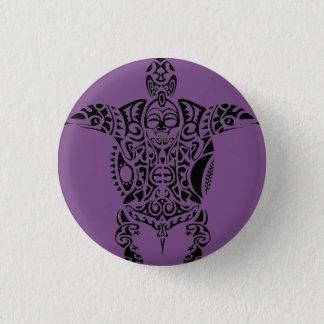 botón de la isla del Pacífico de una tortuga