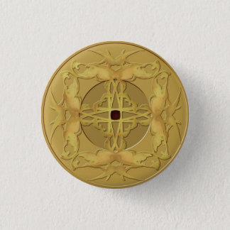 Botón de la moneda del zen