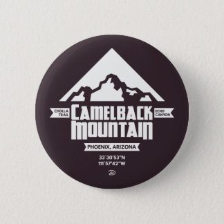 Botón de la montaña del Camelback (oscura) -