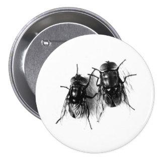 Botón de la mosca doméstica