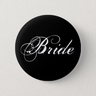 Botón de la novia en negro