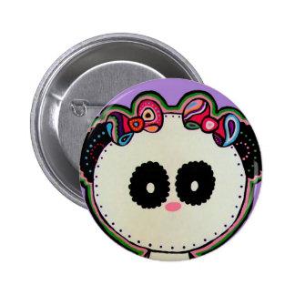 Botón de la panda de Paisley Pin