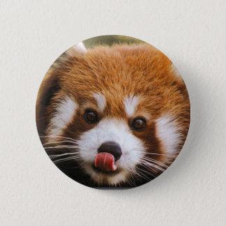 Botón de la panda roja
