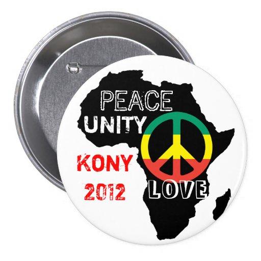 Botón de la paz de África Pins