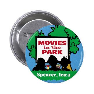 Botón de la película pins