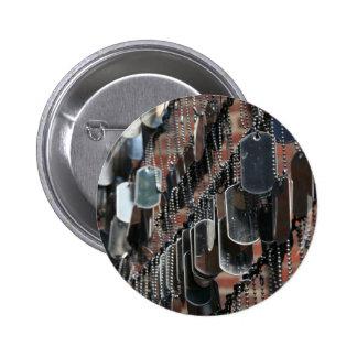 Botón de la placa de identificación pins