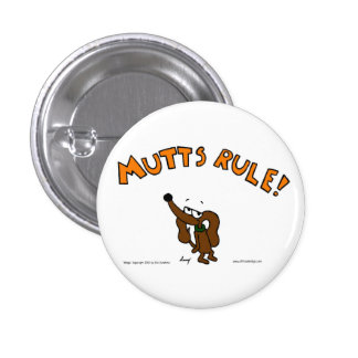 Botón de la REGLA de los MUTTS del jején