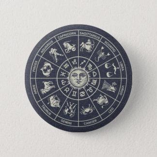 Botón de la rueda del zodiaco