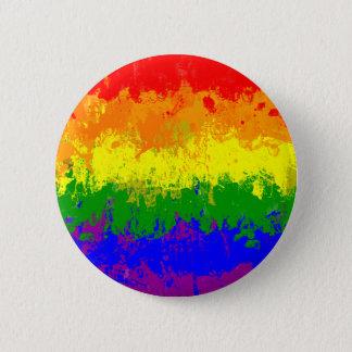 Botón de la salpicadura de la pintura de la