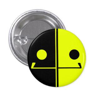 Botón de la sonrisa del robot