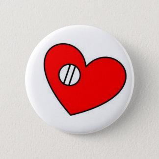 Botón de la válvula de corazón