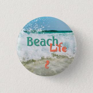 Botón de la vida de la playa