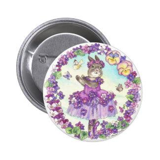 Botón de la violeta dulce