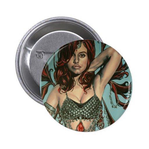 botón de las ilustraciones del faery del peri pins