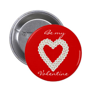 Botón de las tarjetas del día de San Valentín