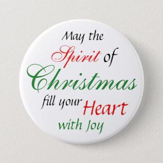 Botón de las vacaciones del alcohol del navidad