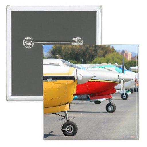 Botón de los aeroplanos pin