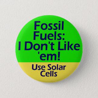 botón de los combustibles fósiles
