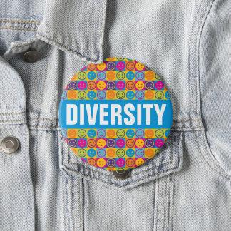 Botón de los derechos humanos de la DIVERSIDAD
