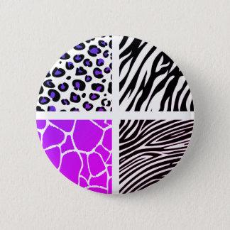 Botón de los diseñadores del tigre nuevo en