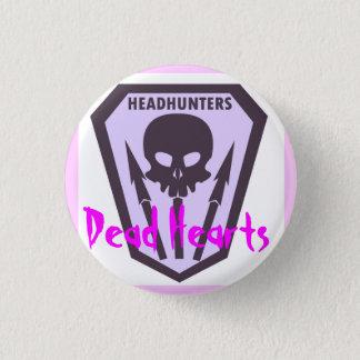 Botón de los Headhunters - corazones muertos