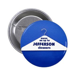 Botón de los limpiadores de Jefferson