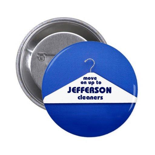 Botón de los limpiadores de Jefferson Pins