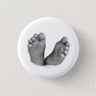 Botón de los pies del bebé