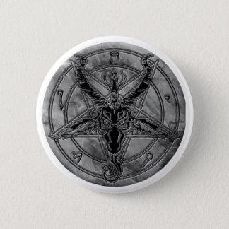 Botón de mármol de Baphomet