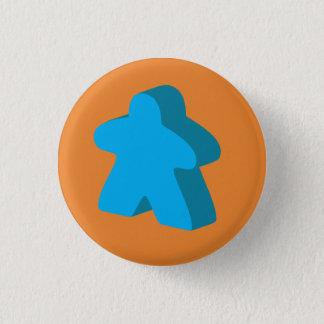 Botón de Meeple (naranja y azul)