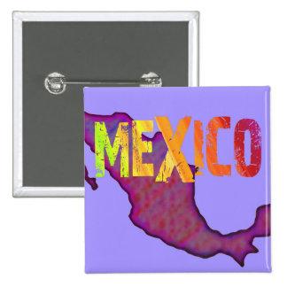Botón de México Pin