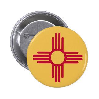 Botón de New México Pins