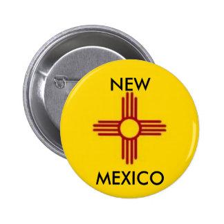 Botón de New México Pin