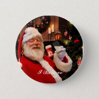 Botón de Nicholas del santo - leche y galletas