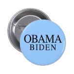 Botón de Obama Biden 2008 Pins
