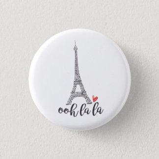 Botón de París del la del la de Ooh