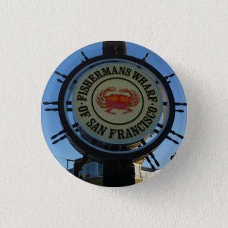 Botón de Pinback del muelle de San Francisco