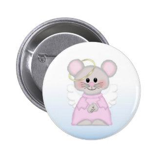 Botón de ratón de la angélica pins