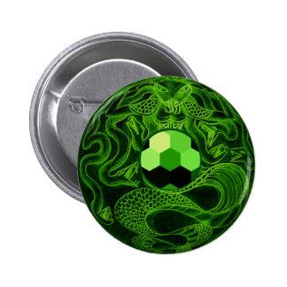 Botón de Sealstone de la joya de la medusa Chapa Redonda 5 Cm