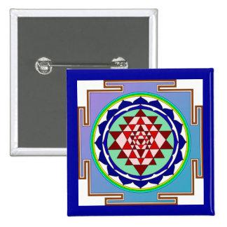 Botón de Sri Yantra