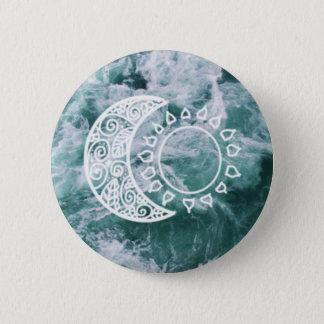 Botón de Sun y de la luna