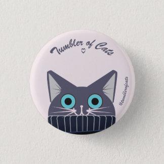 Botón de TumblerofCats - TumblerCat azul