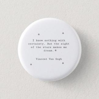 Botón de Vincent van Gogh