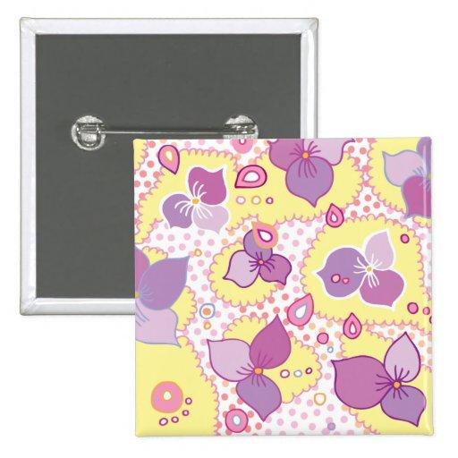 Botón de Violettes Pins