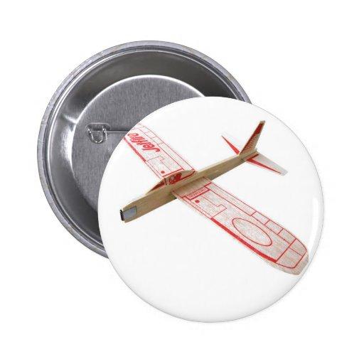 Botón del aeroplano modelo pin
